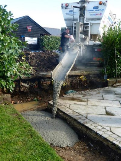concrete pumping in stoneleigh