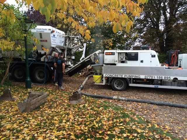 concrete line pump hire in london